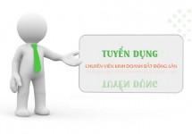 Tuyển Chuyên viên Kinh doanh Bất động sản