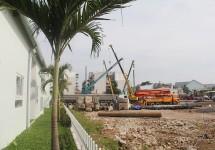 Dự án Chung cư Bộ Công an: Tiến độ xây dựng Tháng 12/2014