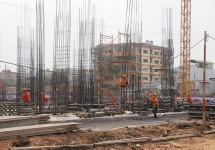 Dự án Chung cư Bộ Công an: Tiến độ xây dựng Tháng 01/2015