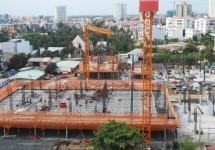 Dự án Chung cư Bộ Công an: Tiến độ xây dựng Tháng 05/2015