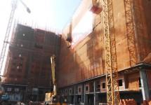 Dự án Chung cư Bộ Công an: Tiến độ xây dựng Tháng 06/2015