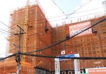 Dự án Chung cư Bộ Công an: Tiến độ xây dựng Tháng 07/2015