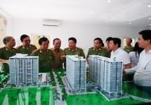 Lãnh đạo Bộ Công an kiểm tra tiến độ dự án Chung cư Bộ Công an
