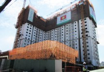 Dự án Chung cư Bộ Công an: Tiến độ xây dựng Tháng 10/2015