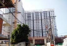 Dự án Chung cư Bộ Công an: Tiến độ xây dựng Tháng 11/2015