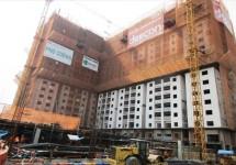 Dự án Chung cư Bộ Công an: Tiến độ xây dựng Tháng 08/2015